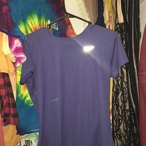 Purple Nike shirt